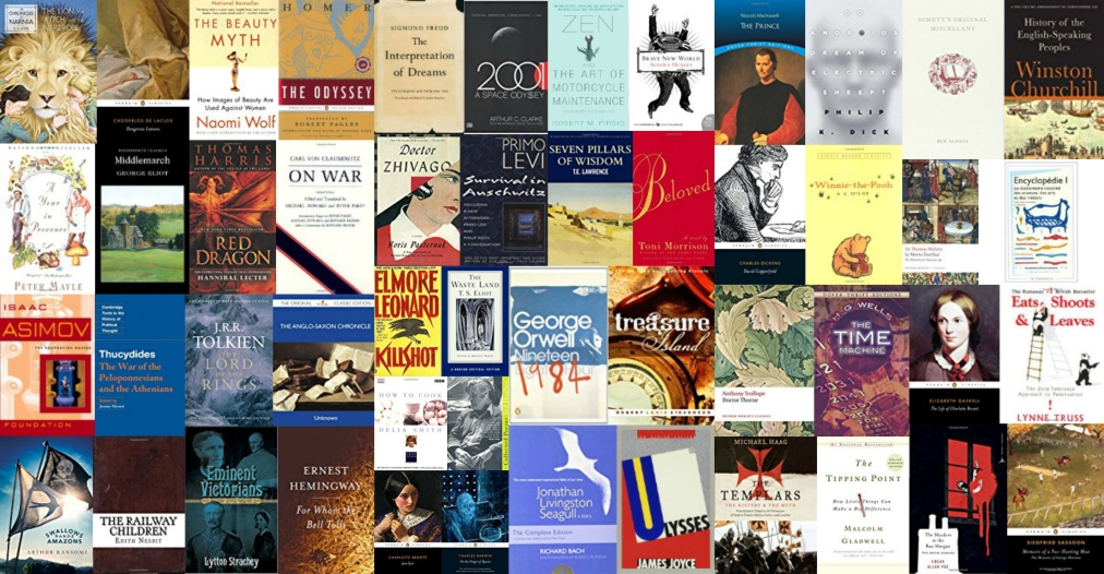 110 Best Books: The PerfectLibrary by TheTelegraph