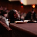 book, pen, people, auditorium, seminar, listen, speaker