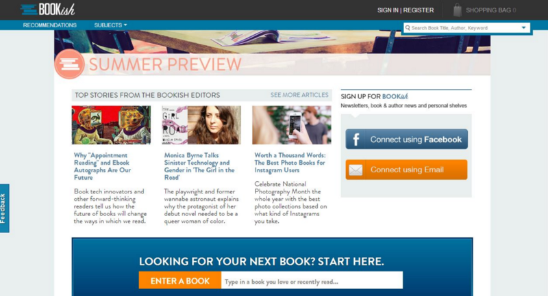 Best Book Recommendation Website – BooksIcon com